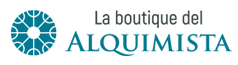 La boutique del alquimista Sticky Logo